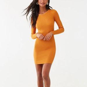 New🏷 yellow sweater dress 💛